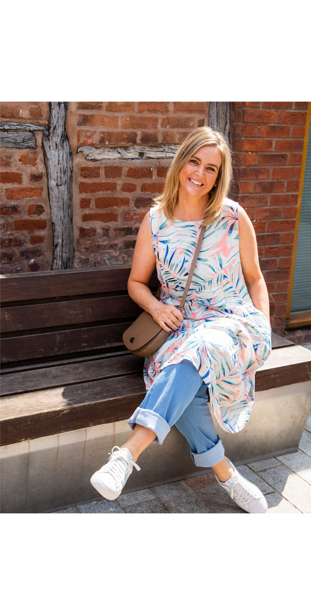 Marin Hothouse Print Dress main image