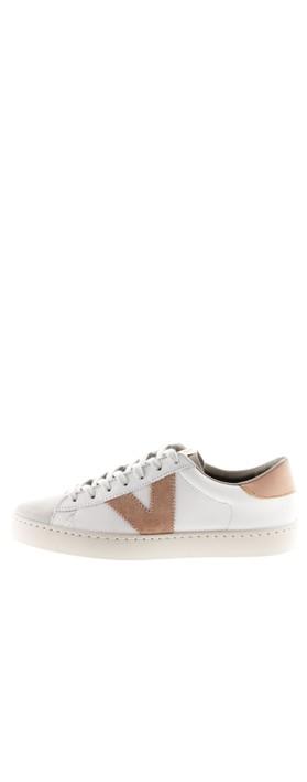 Victoria Shoes Berlin Classic Victoria V Leather Trainer Cuarzo - Sand