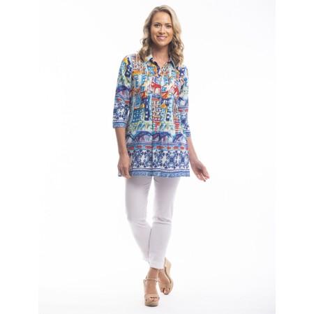 Orientique Algarve 3QS Shirt - Blue
