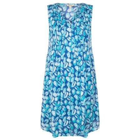 Orientique Las Palmas Pleated Dress - Multicoloured