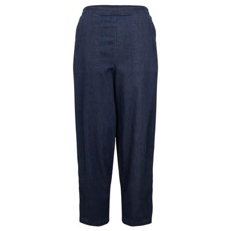 Sahara Stretch Denim Straight Pant - Blue