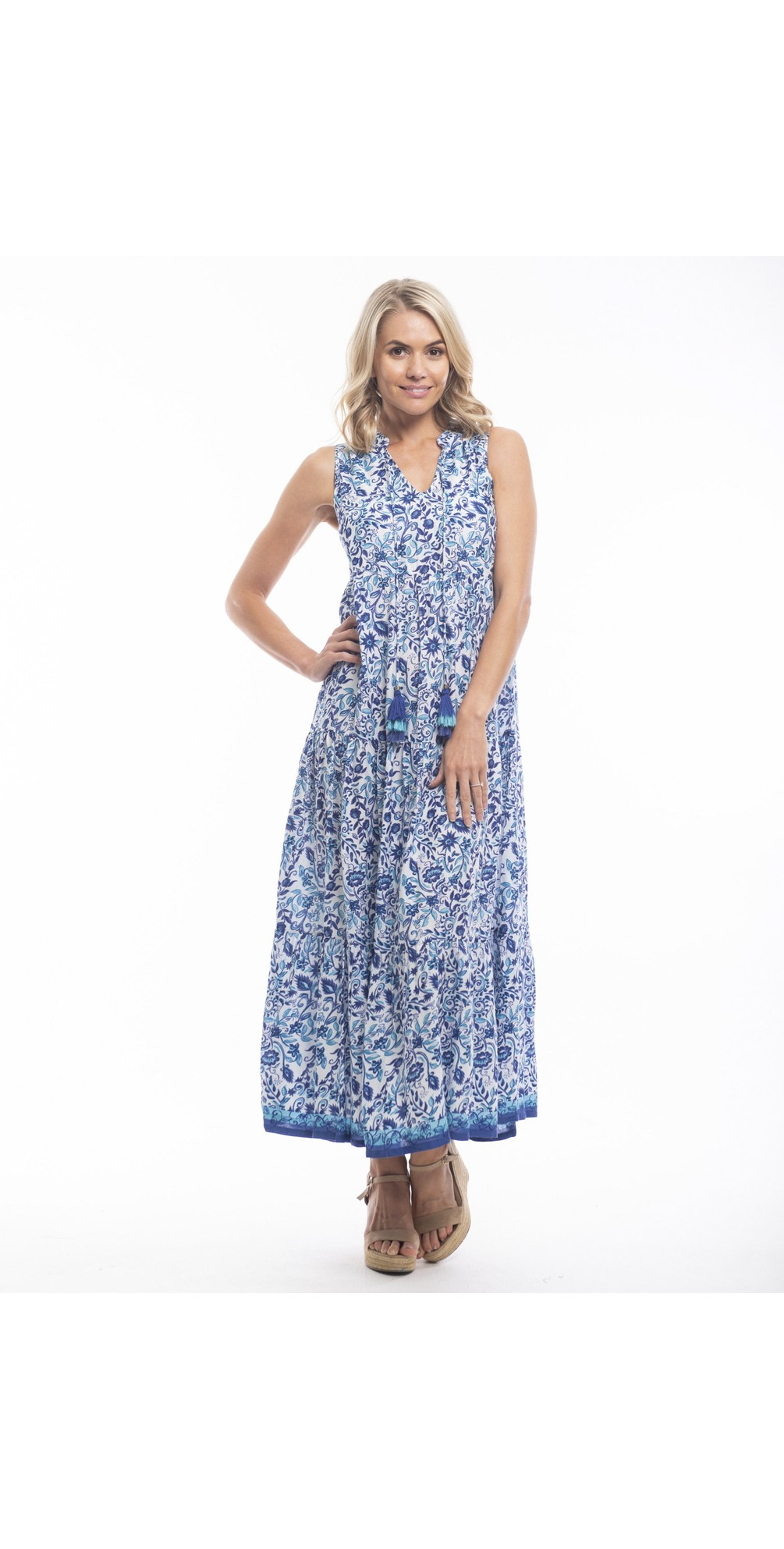 Tenerife Maxi Dress main image