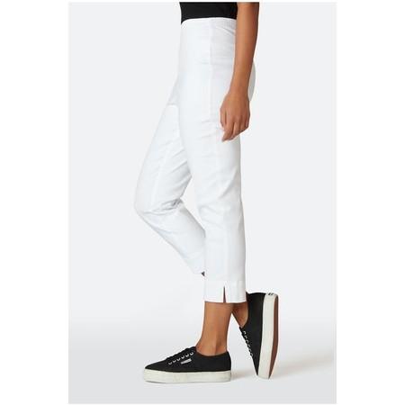 Sahara Stretch Cotton Twill Trouser - White
