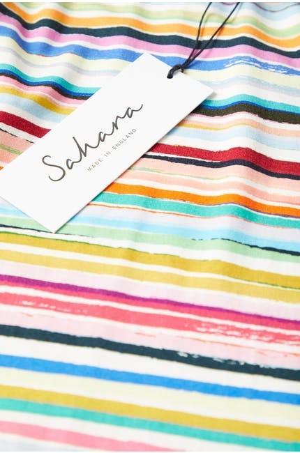 Multi Colour Stripe Jersey Top main image