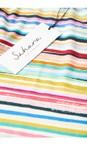 Sahara Multi Multi Colour Stripe Jersey Top