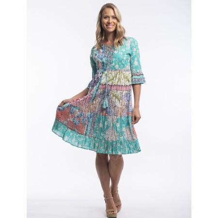 Orientique Madeira Midi Dress - Multicoloured