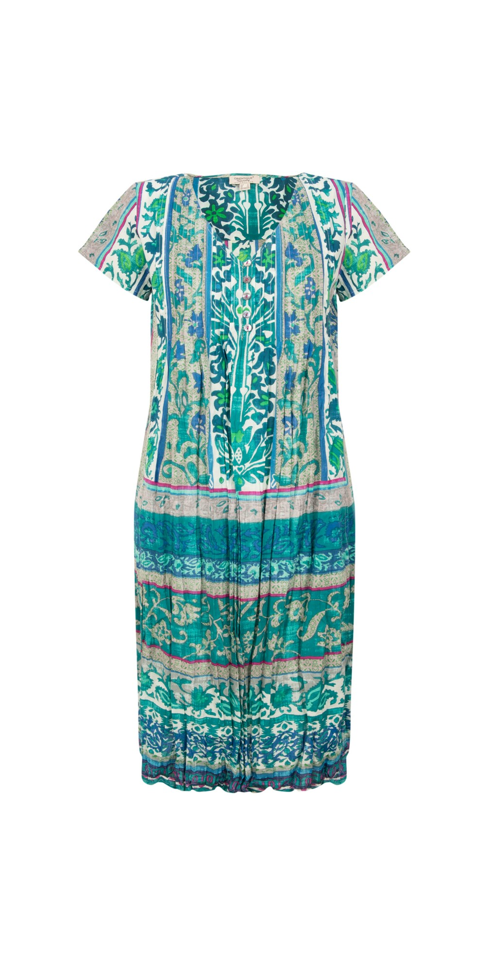 Ibiza Easy Fit Pleated Dress main image