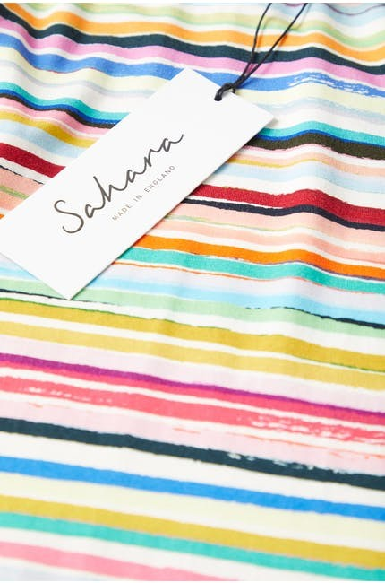 Stripe Jersey Sleeveless Dress main image