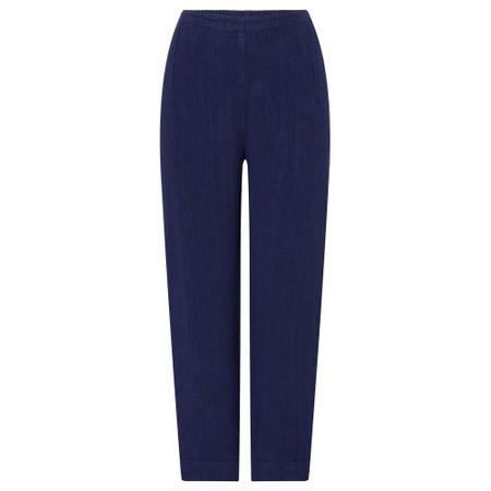 Sahara Stretch Denim Bubble Trouser - Blue