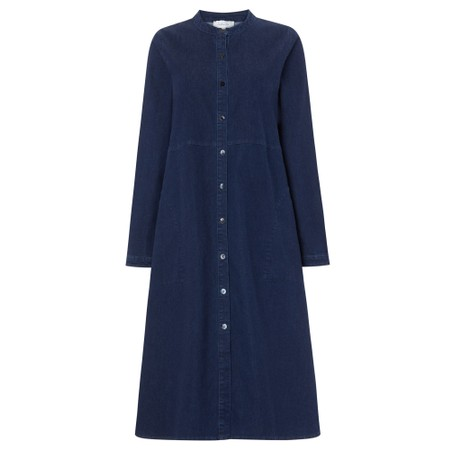 Sahara Stretch Denim Dress - Blue