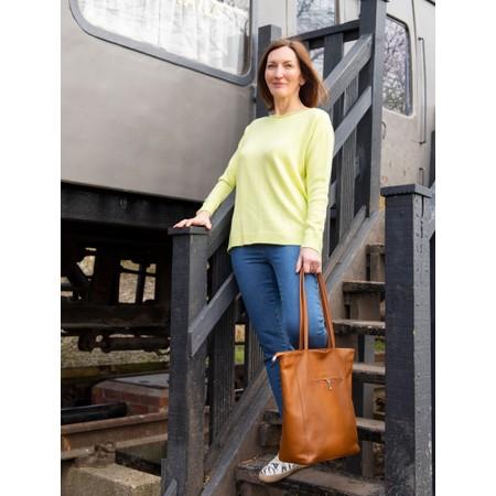 Gemini Label Bags Turin Tote Bag - Brown