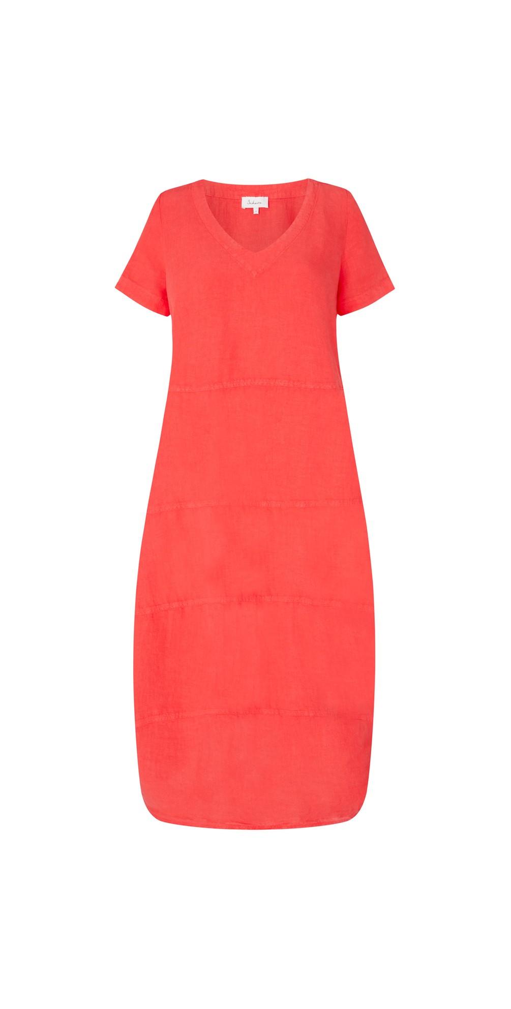 Linen Panelled Dress main image