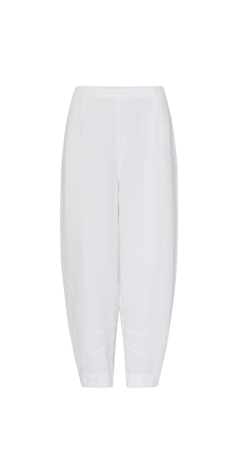 Texture Linen Crop Bubble Pant main image