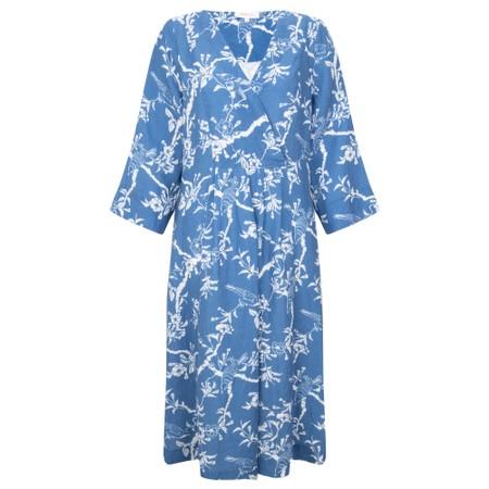 Sahara Vintage Kimono Cross Front Dress - Multicoloured