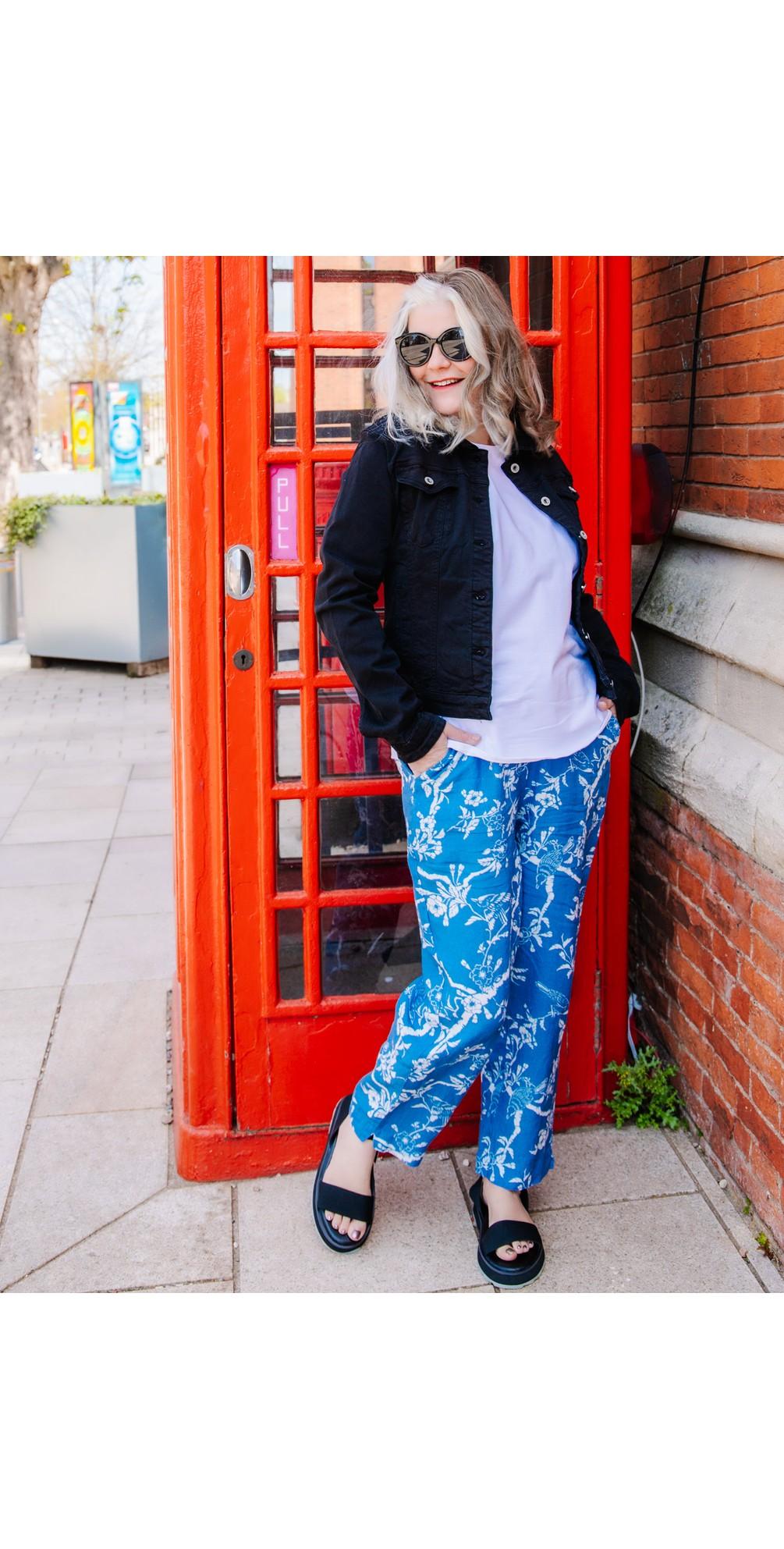 Vintage Kimono Bubble Trouser main image