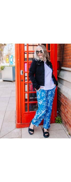 Sahara Vintage Kimono Bubble Trouser Delft/Porcelain