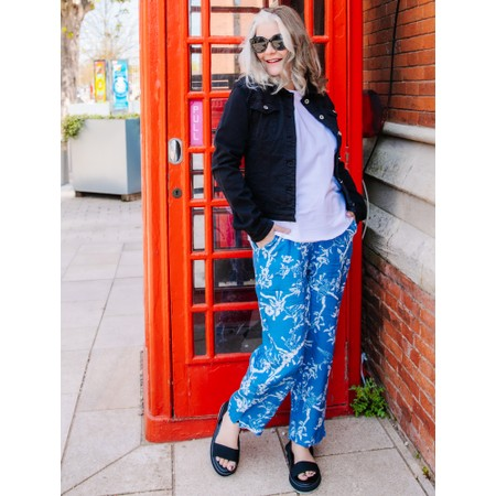 Sahara Vintage Kimono Bubble Trouser - Multicoloured
