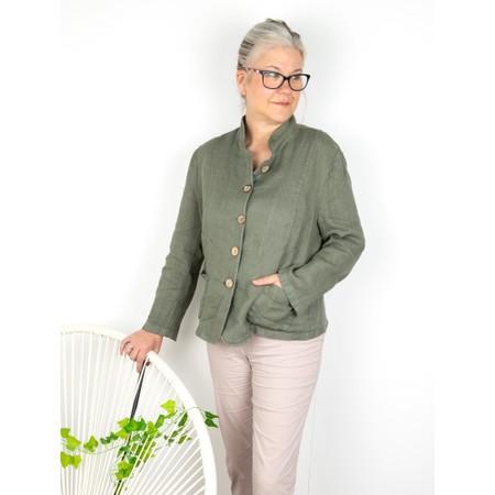 Amazing Woman Katia Front Pocket Short Jacket - Beige