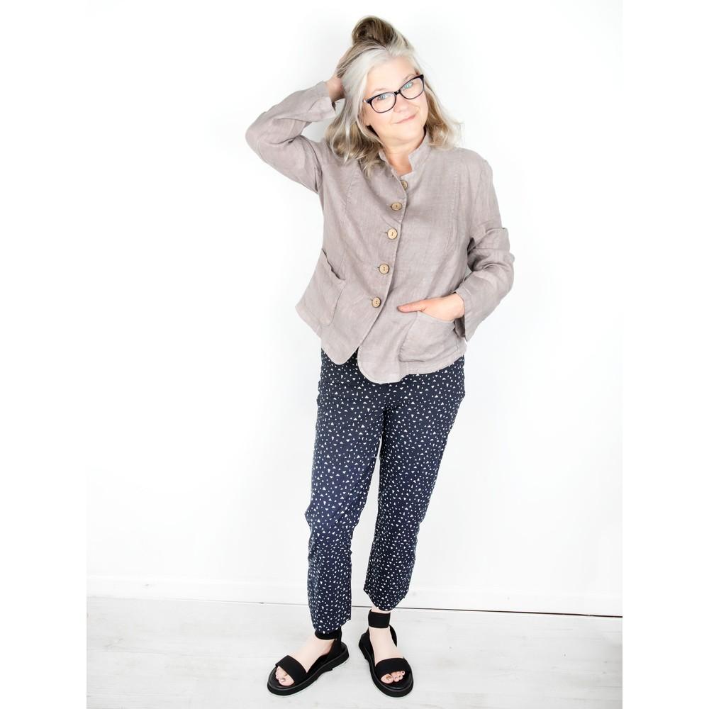 Amazing Woman Katia Front Pocket Short Jacket Fango