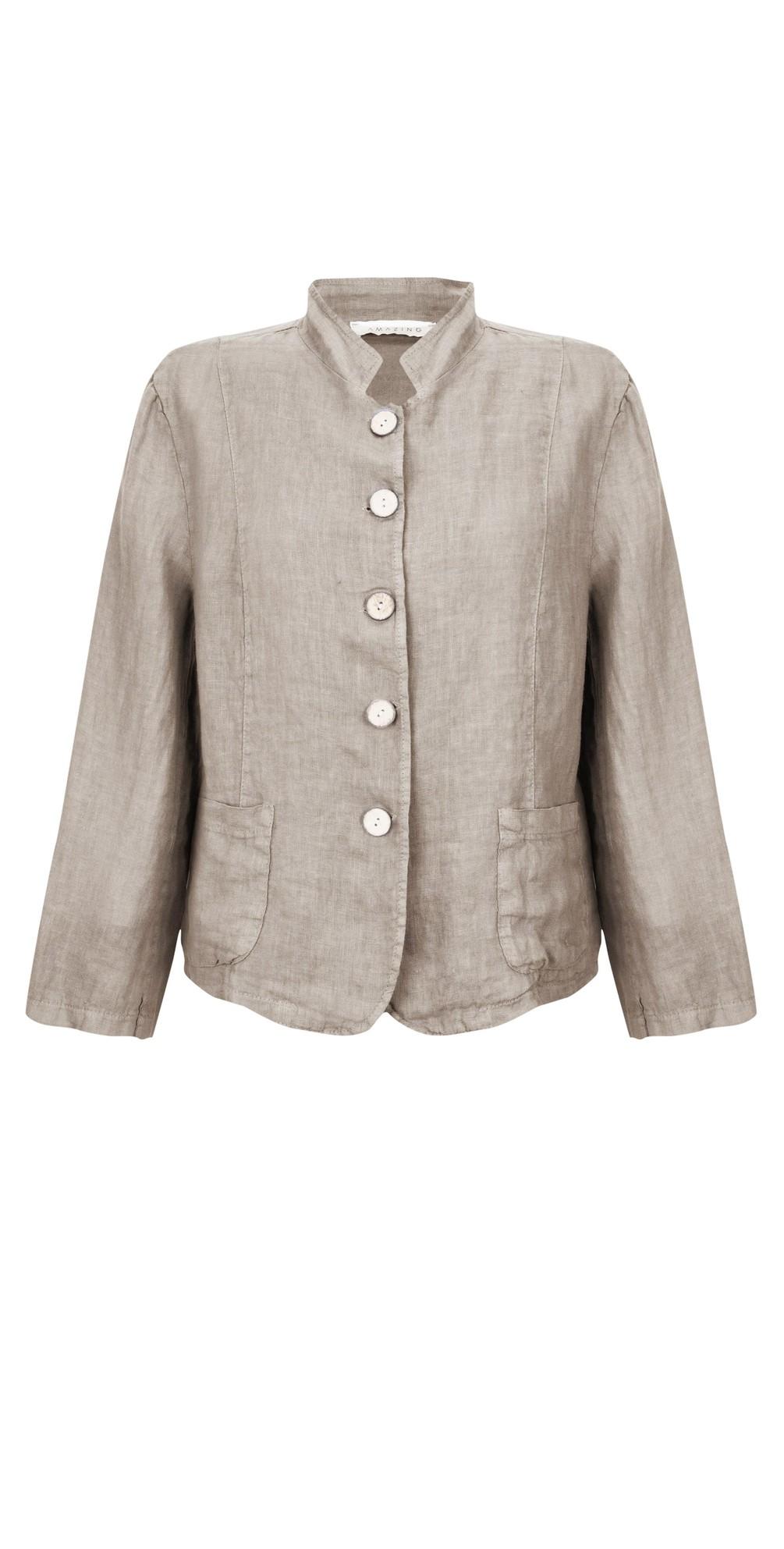 Katia Front Pocket Short Jacket main image