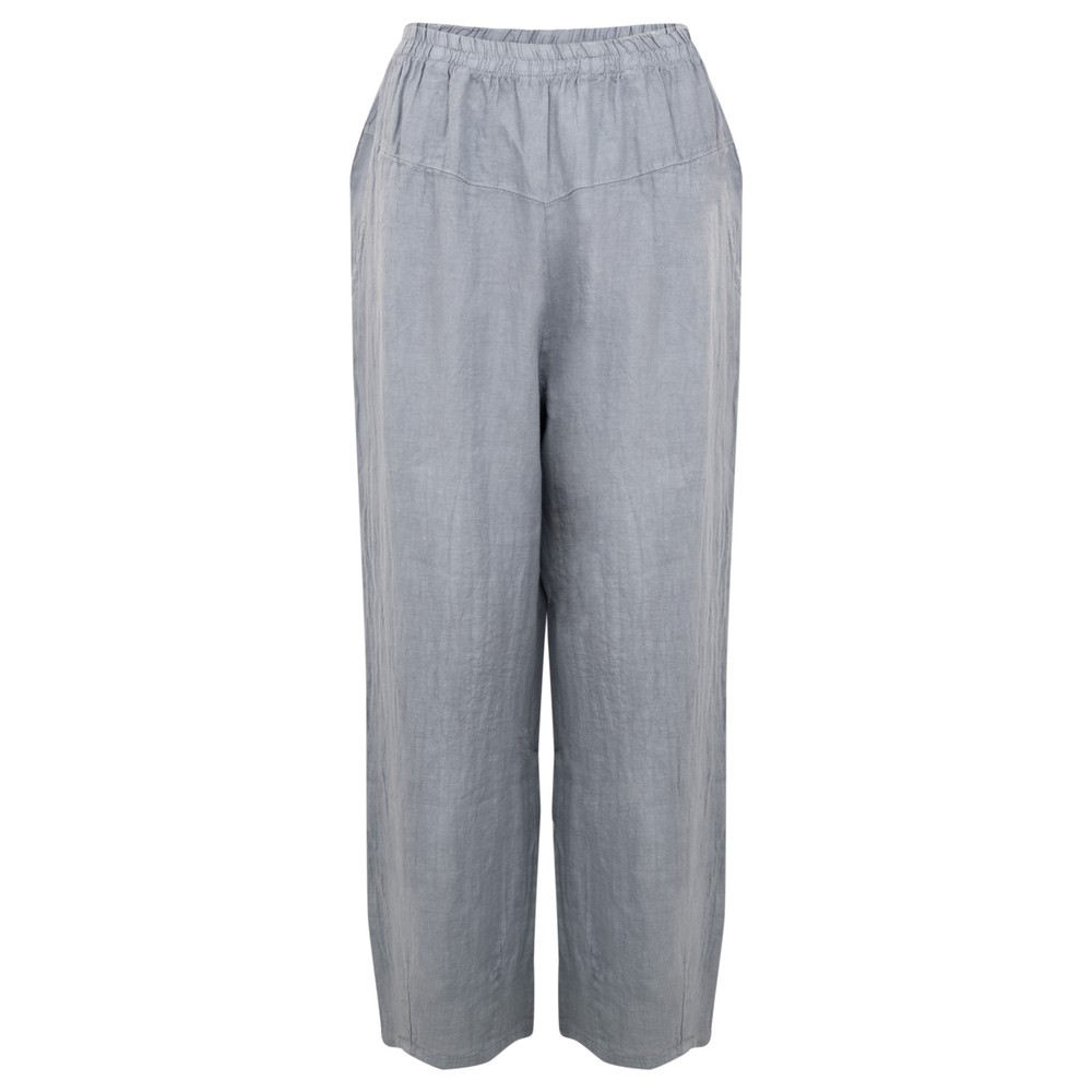 Amazing Woman Ossie Linen Seamed Trouser Jeans Blue