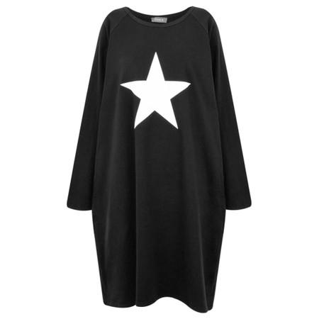 Chalk Brody Star Dress - Beige