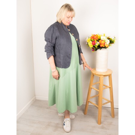 Amazing Woman Katia Front Pocket Short Jacket - Black