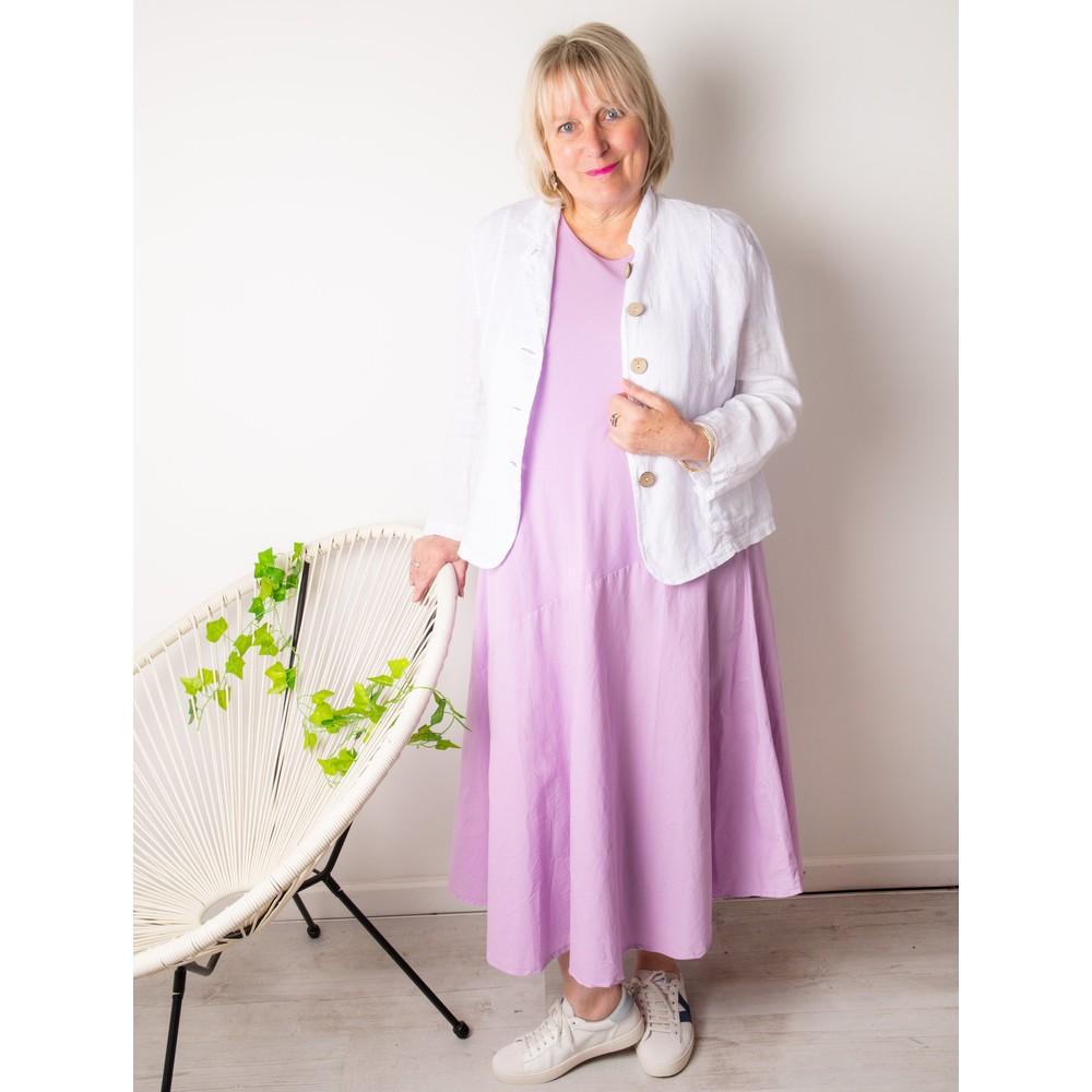 Amazing Woman Brina Jersey Dress Lilac