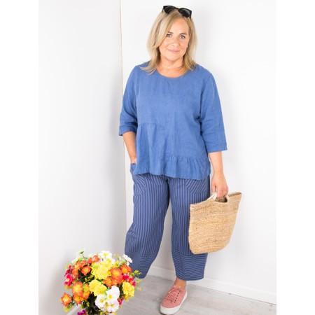 Thing Trina Stripe Trousers - Blue