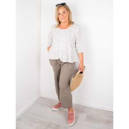 Thing Updown Linen Top - White