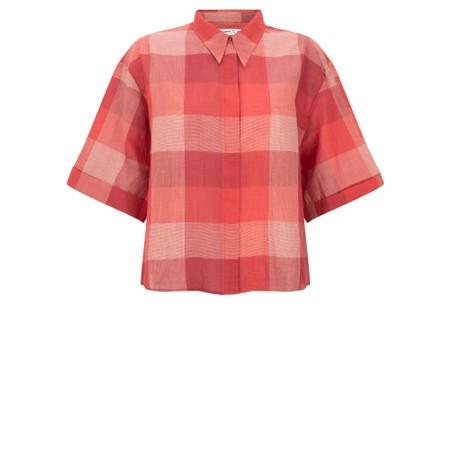 Mes Soeurs et Moi Ornella Check Shirt - Pink