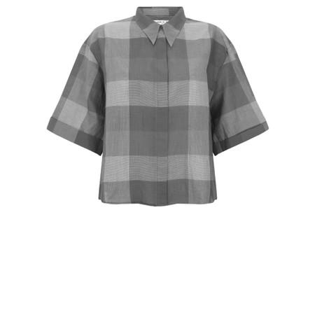 Mes Soeurs et Moi Ornella Check Shirt - Grey