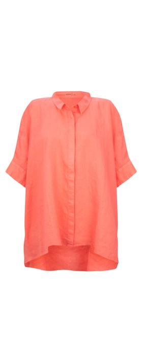 Mes Soeurs et Moi Anubus Oversized Shirt Corail