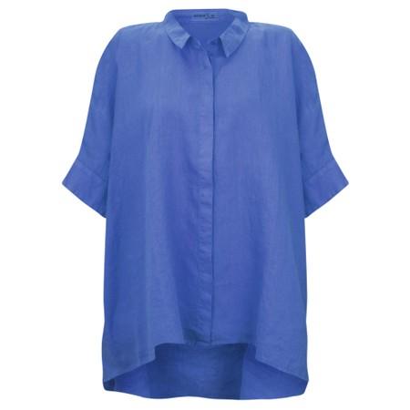Mes Soeurs et Moi Anubus Oversized Shirt - Blue