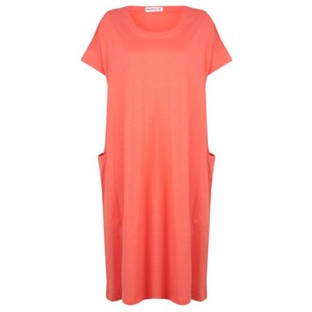 Mes Soeurs et Moi Polux Dress With Pockets - Orange