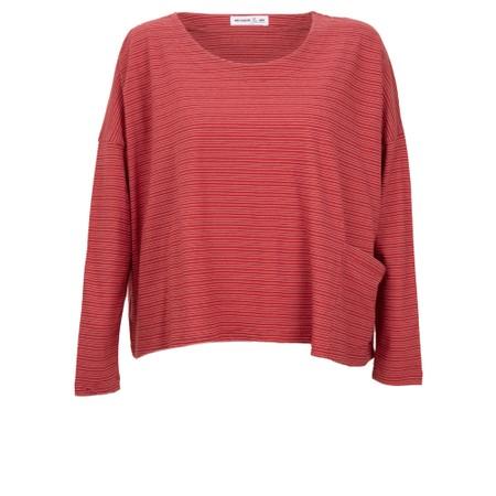 Mes Soeurs et Moi Tapir Jersey Stripe Top - Pink