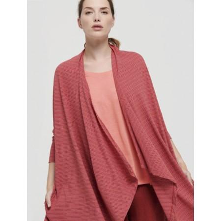 Mes Soeurs et Moi Tabarka Linen Stripe Cardi - Pink