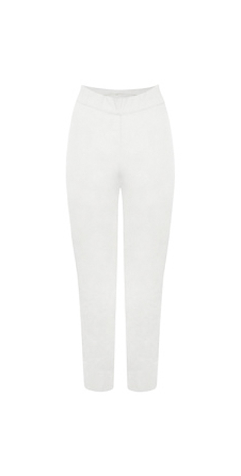 Trapeze White 7/8 Pull on Trouser main image