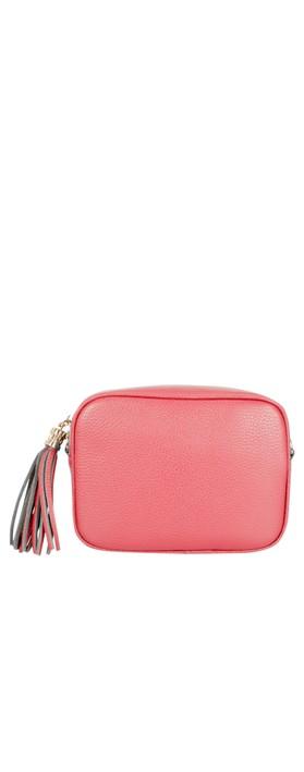 Gemini Label Bags Connie Cross Body Bag Coral