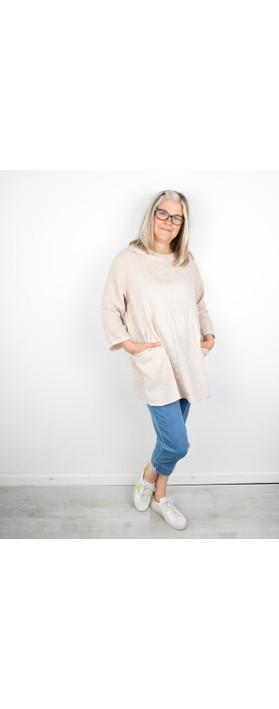 Amazing Woman Lexia Linen Top Natural
