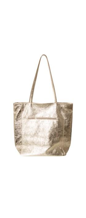 Gemini Label Bags Turin Tote Bag Gold