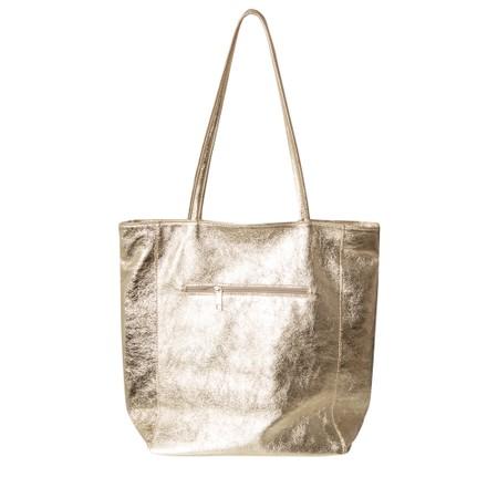 Gemini Label Bags Turin Tote Bag - Gold