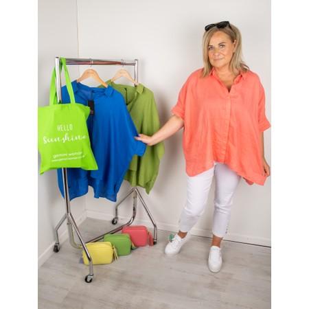 Mes Soeurs et Moi Anubus Oversized Shirt - Orange