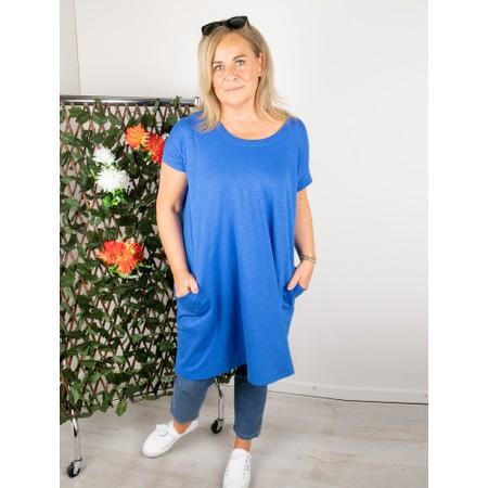 Mes Soeurs et Moi Polux Dress With Pockets - Blue