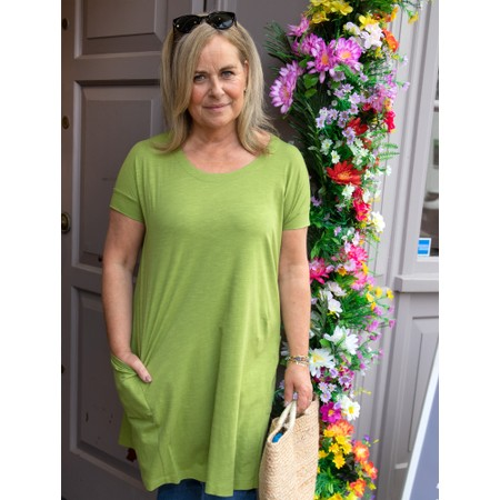 Mes Soeurs et Moi Polux Dress With Pockets - Green