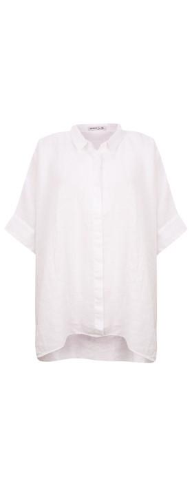 Mes Soeurs et Moi Anubus Oversized Shirt White