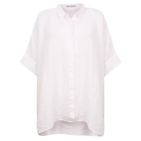 Mes Soeurs et Moi Anubus Oversized Shirt - White