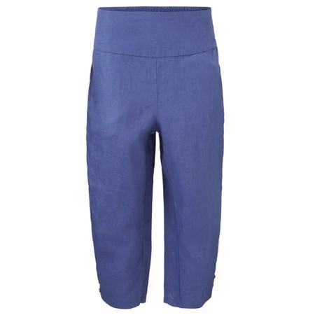 Masai Clothing Pen Linen Culottes - Blue