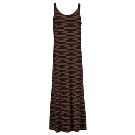 Masai Clothing Oda Dress - Brown