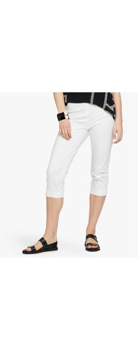 Masai Clothing Peach Trouser White